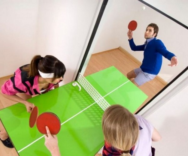 Knock Knock. Who's There? Ping Pong Door.