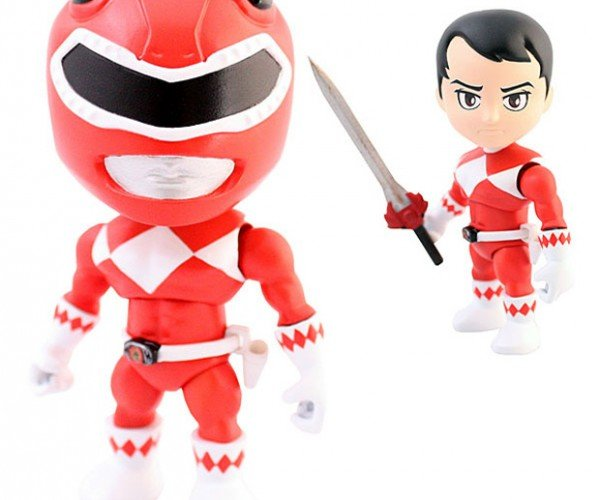 Go Go Power Rangers Vinyl Action Figures!