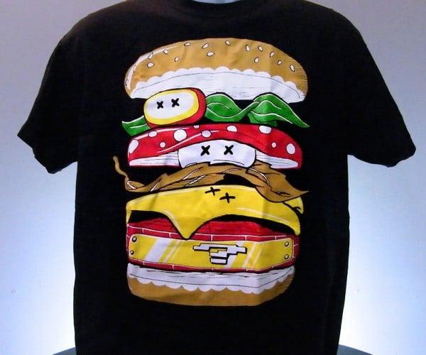 Power Burger: Mario Melt