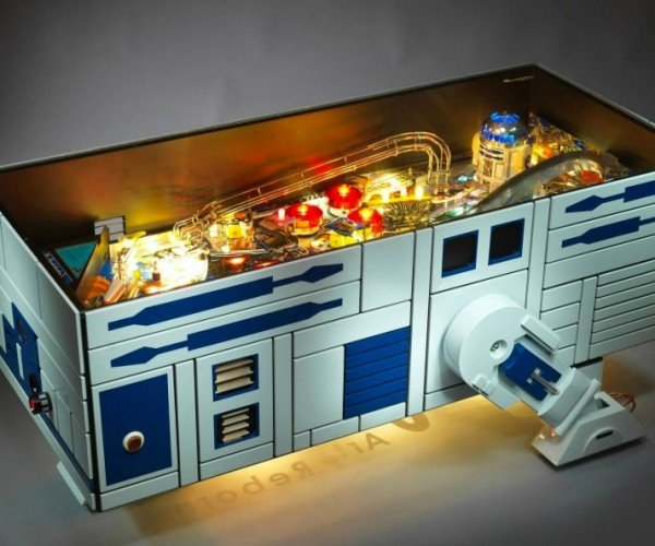 R2-D2 Coffee Table/Pinball Machine
