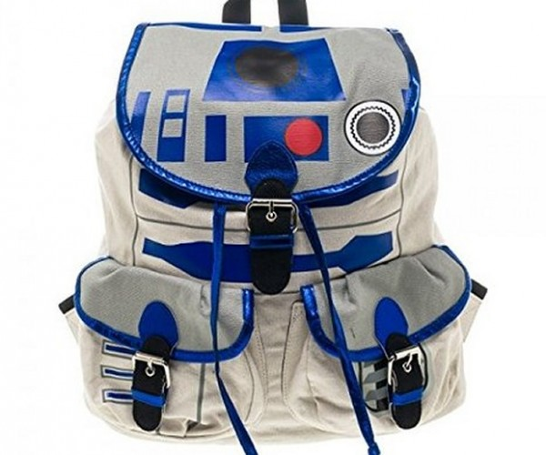 R2-D2 Knapsack Backpack: Dromedary Droid