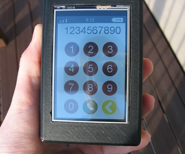 DIY Raspberry Pi Cellphone: Brickphone 2.0