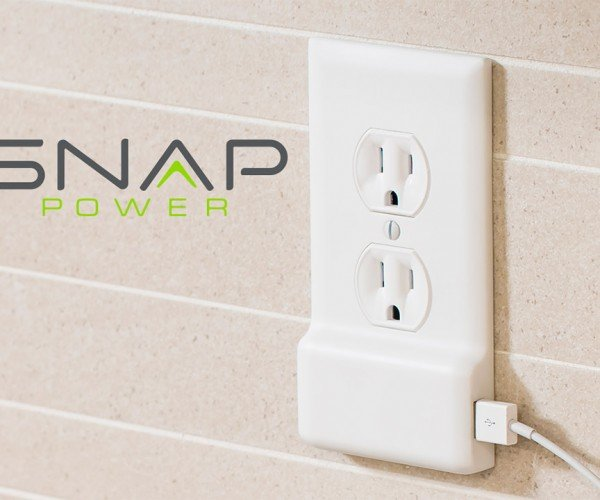 SnapPower Adds a USB Port to Outlets without Wiring