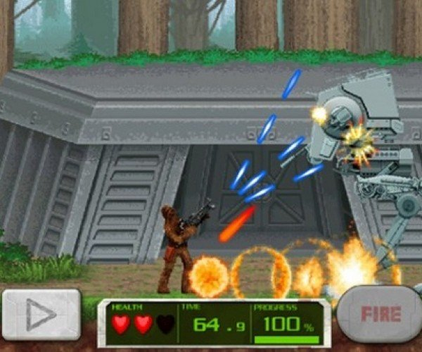 A Star Wars/Contra Mashup for Your Phone