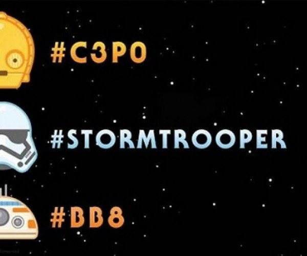 Star Wars: The Force Awakens Twitter Emoji