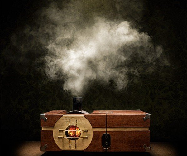 Steam-Powered Gaming Cabinet is Literally Steampunk