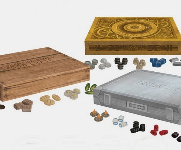 Treasure Chest Board Game Tokens Will Have Your Meeples Tingling