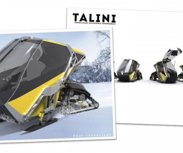 This Wheelchair-Accessible Snowmobile Is Awesome