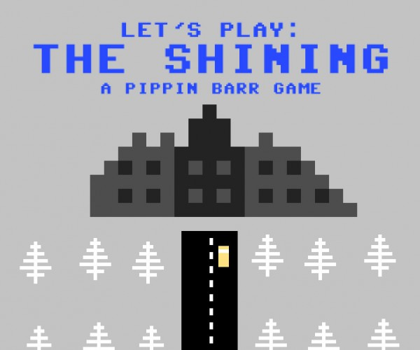 The Shining: Atari 800 Style