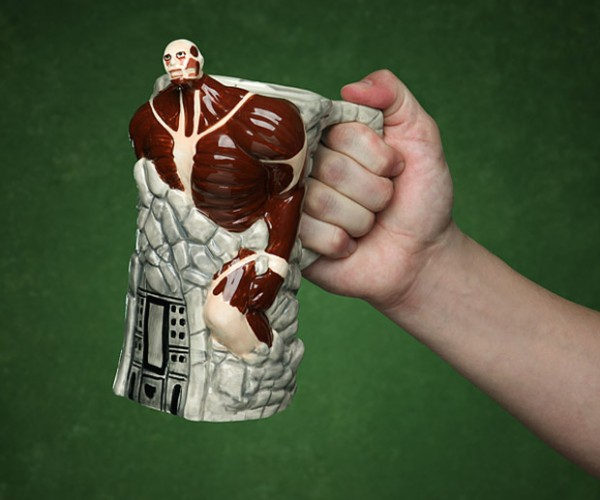 Attack on Titan Stein Breaches Wall Maria, Won't Spill your Beer