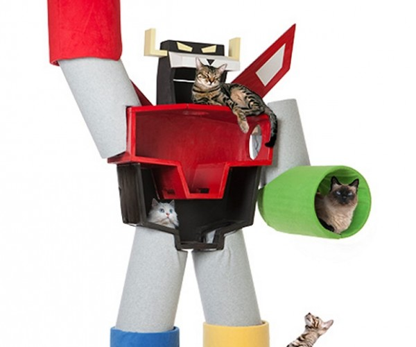 At Last, A Voltron Cat Condo