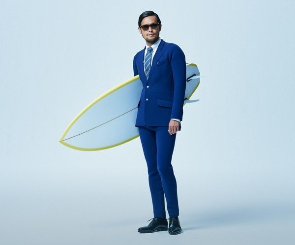 Business Suit Wetsuits: All Business While at Play