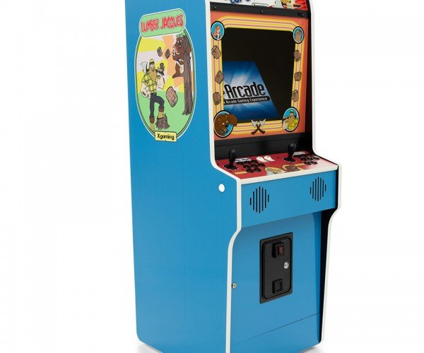 X-Arcade Lumber Jacques Arcade Machine: Donk-it-Kong