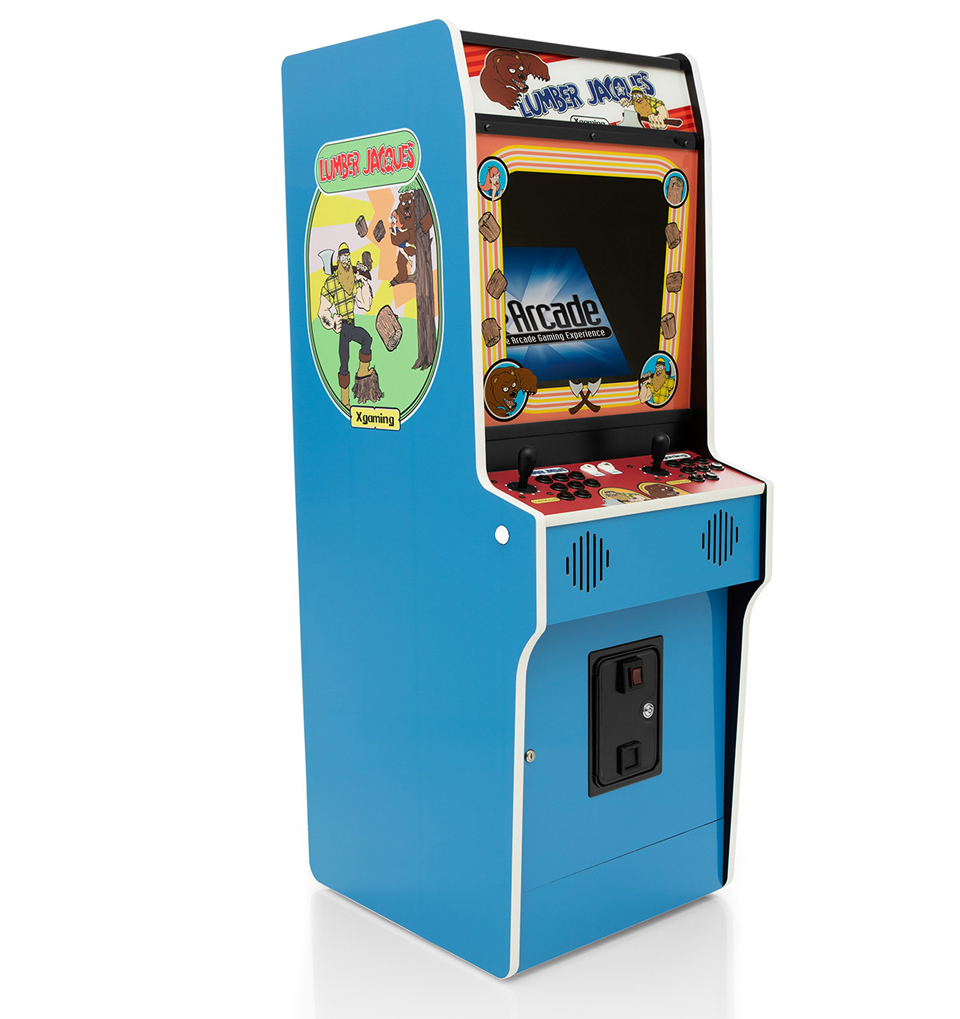 Fix It Felix Jr Arcade Machine X-Arcade Lumber Jacque...