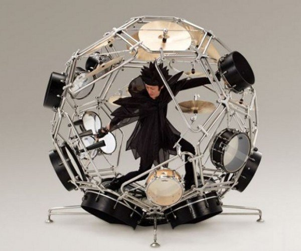Yamaha's Full Body Drum Kit