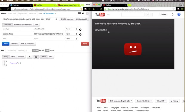 youtube_delete_video_exploit_by_Kamil_Hismatullin_1