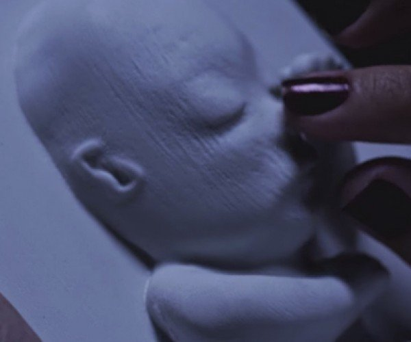 3D Printing and Ultrasound Help Blind Pregnant Moms Touch Their Unborn Babies