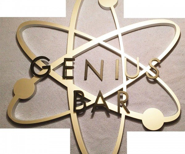 Own an Official Genius Bar Sign – Just $6000