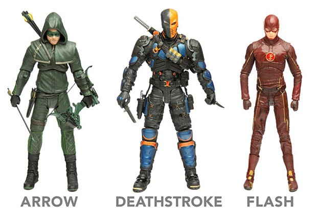 Arrow And Flash Action Figures Are The Coolest Thing From