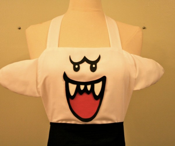 Super Mario Boo Apron: for Super Mario Batalis