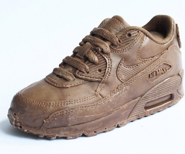 Solid Chocolate Nike Air Max 90 Sneaker: Just Chew It