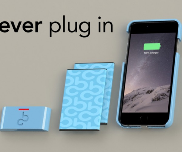 CoBattery iPhone Case Concept Has Removable Batteries: Return of the Swap