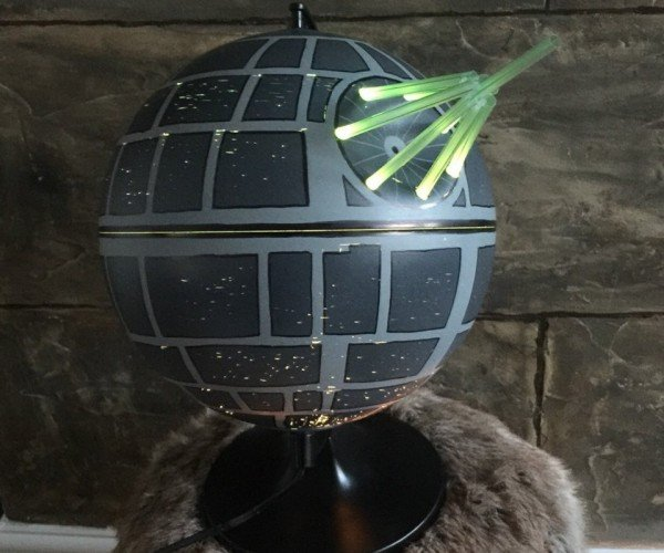 Death Star Lamp: The Light Side of the Dark Side