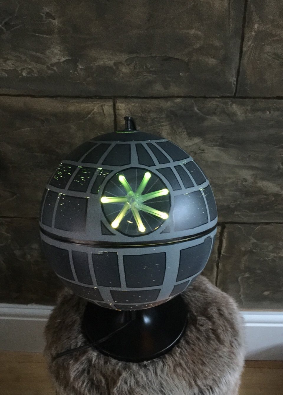 Death Star Lamp The Light Side Of The Dark Side