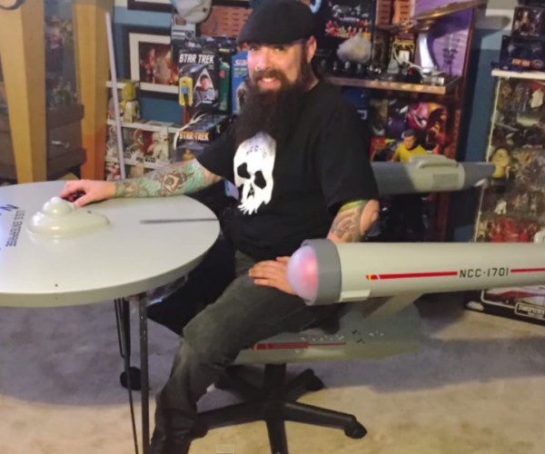 Star Trek Enterprise Desk: Boldly Sit Where You've Never Sat Before
