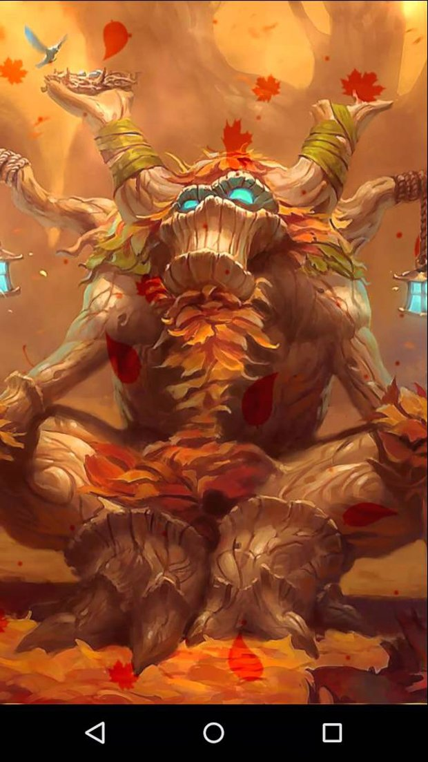 Fan Crafts Hearthstone Golden Card Animated Wallpapers