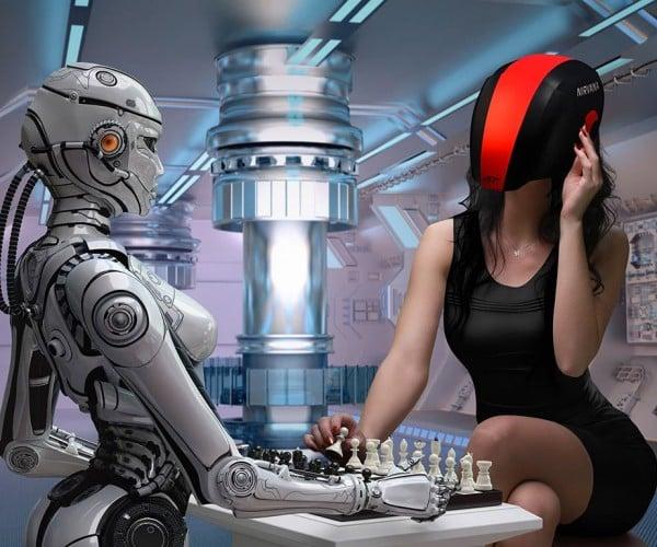 FEELREAL VR Mask and Helmet: A Face Full of Feeling