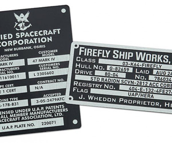 Firefly Sticker Set Commemorates Serenity