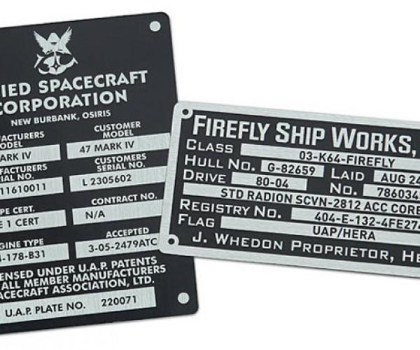 Firefly Sticker Set Commemorates Serenity