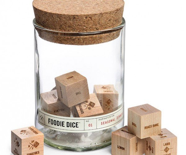 Foodie Dice: Roll Your Own Recipes