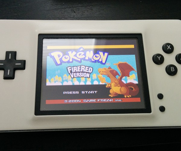 Nintendo DS Lite to Game Boy Advance Mod: Nintendo SS