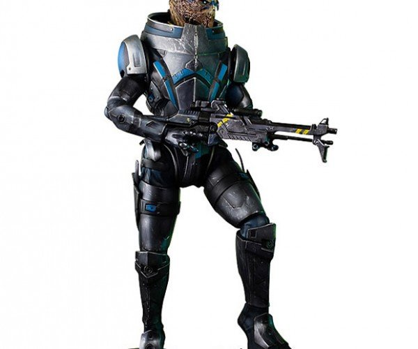 20-inch Mass Effect Garrus Figure is Wide in the Shoulders