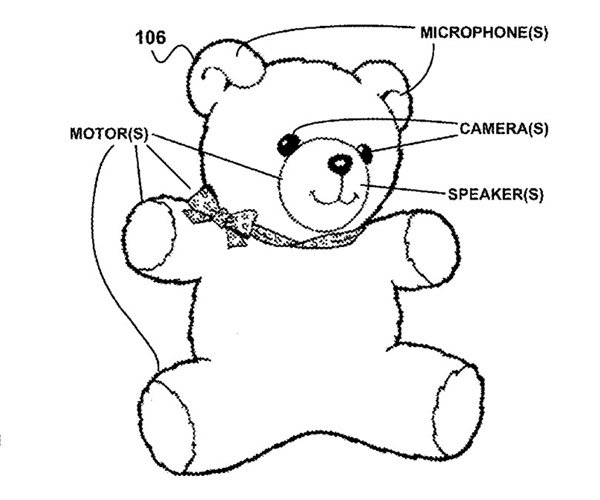 Google's Patent-pending Robotic Stuffed Animals: Cute or Creepy?