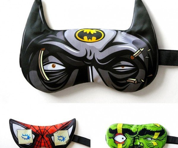 Superhero Sleep Masks: Heroes Never Sleep