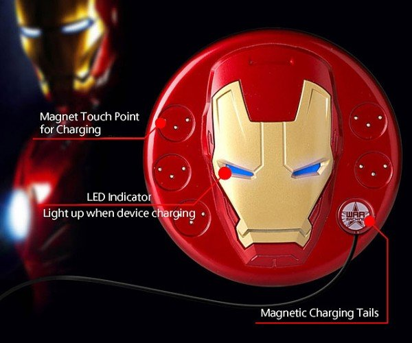 Iron Man Magnetic Charging Station: Attractor Technology