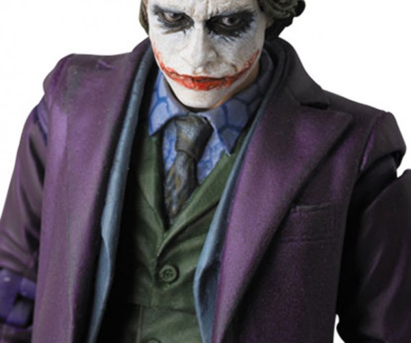 Dark Knight Joker Action Figure is Very Serious