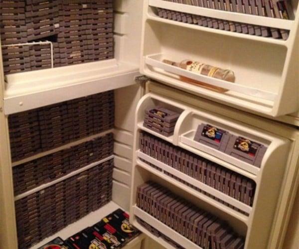 Fridge Full of Jurassic Park Games Hits eBay