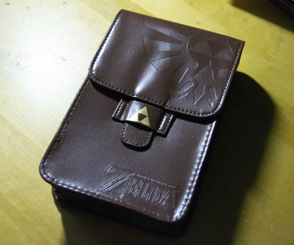 The Legend of Zelda Adventurer's Pouch Nintendo 3DS/DS Kit: The Leatherish Bag