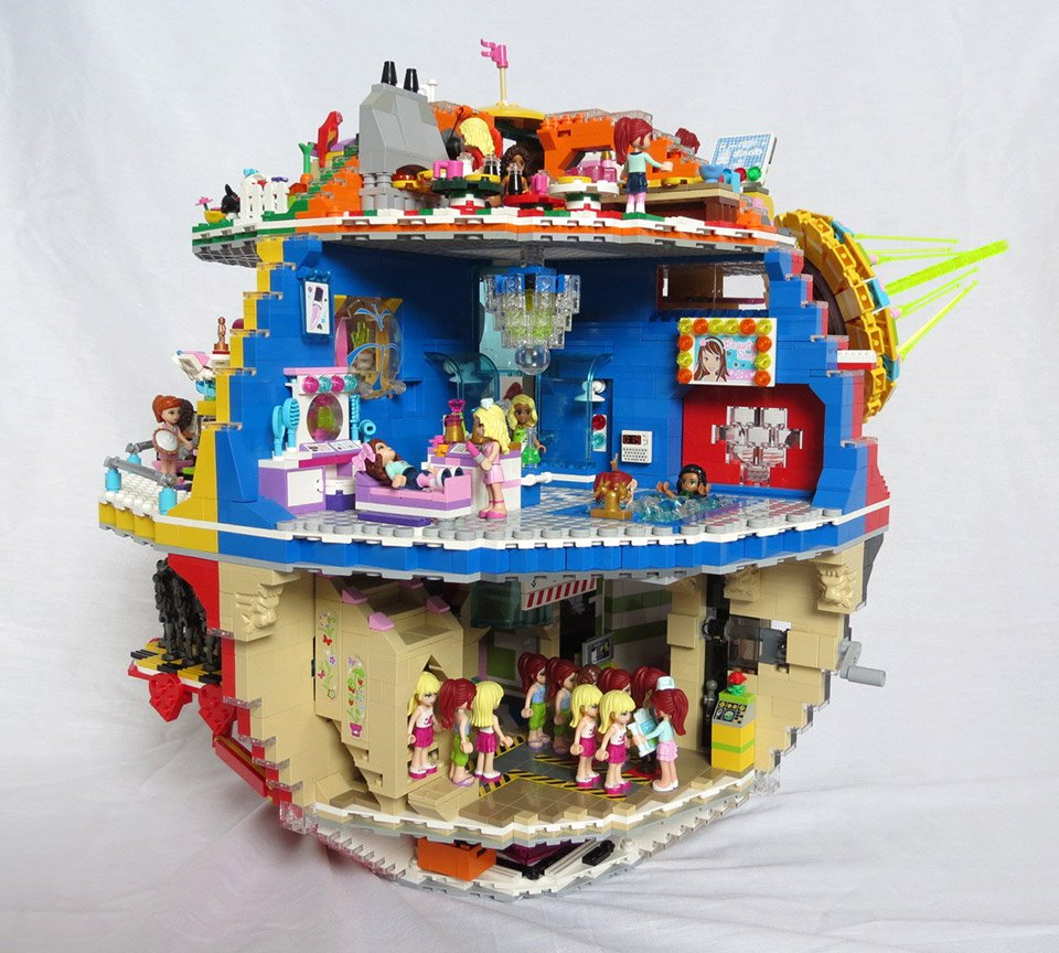 Lego Friends Death Star That S No Play Date Technabob