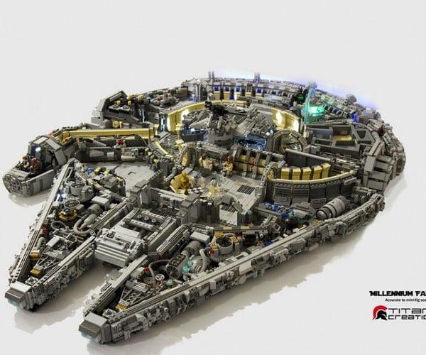 LEGO Millenium Falcon Interior: LTV Cribs