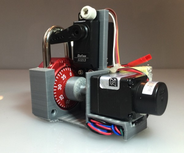 Automated Master Combination Lock Cracker: Combo Breaker