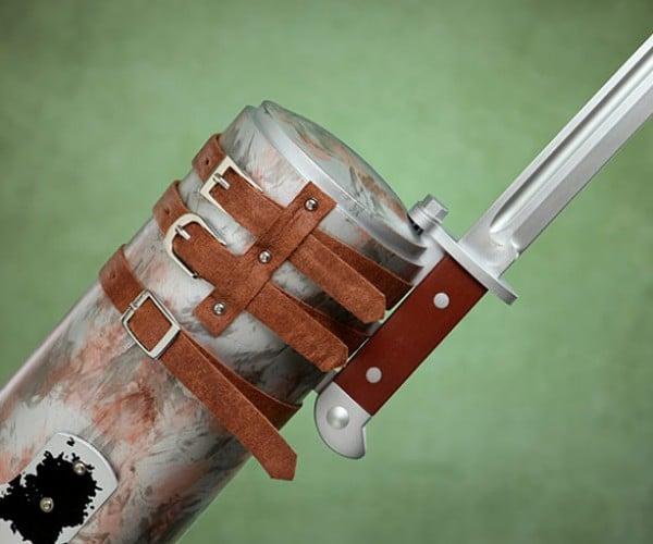 Merle's Knife Hand Replica Wants to Kill Rick