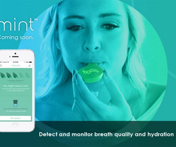 Mint Tells You if Your Breath Stinks or If You Need a Drink