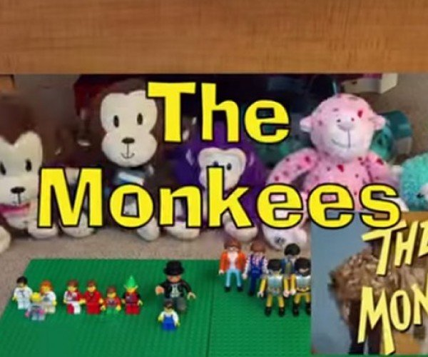 8-year-old Recreates 'The Monkees' Opening Sequence with Toys, Mostly LEGO