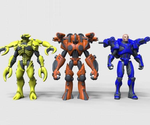 Morphonauts Magnetic & Modular Action Figures: Frankenfigure