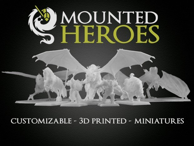 mounted_heroes_3d_printed_customizable_miniatures_1